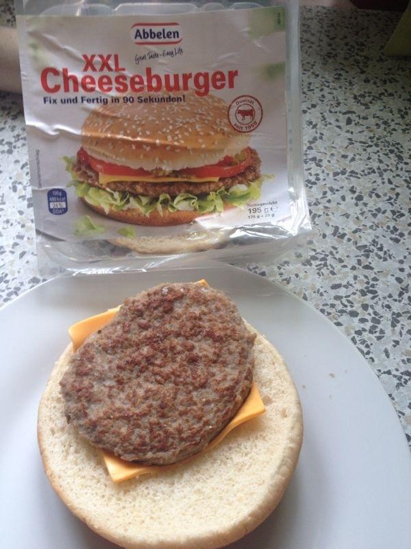 False Ad Hamburger
