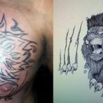 bad lion tattoo