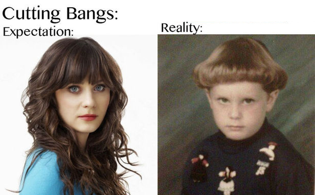 horrible bangs