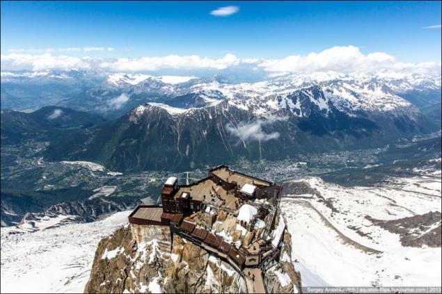 french-alps-restaurant-Altitude - Aiguille du Midi