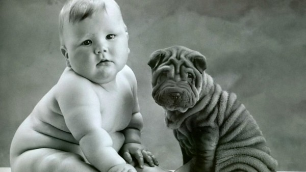 top 10 baby and puppy pictures