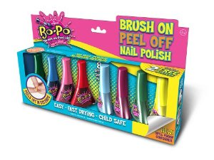 Bo-Po Brush On Peel Off Nail Polish