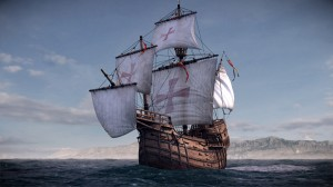 Columbus' flagship Santa Maria discovered