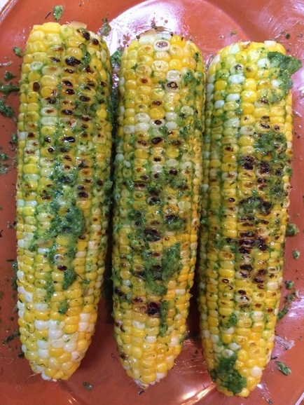 Parsley and Chive Corn