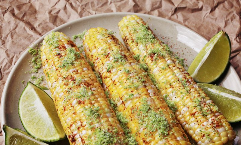 Grilled Corn On The Cob With Chile And Lime Recipes — Dishmaps
