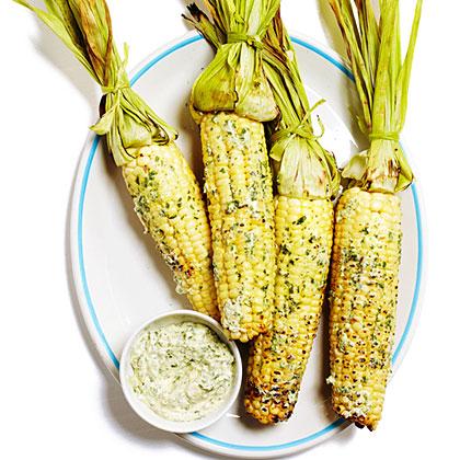 cilantro-Sesame-corn