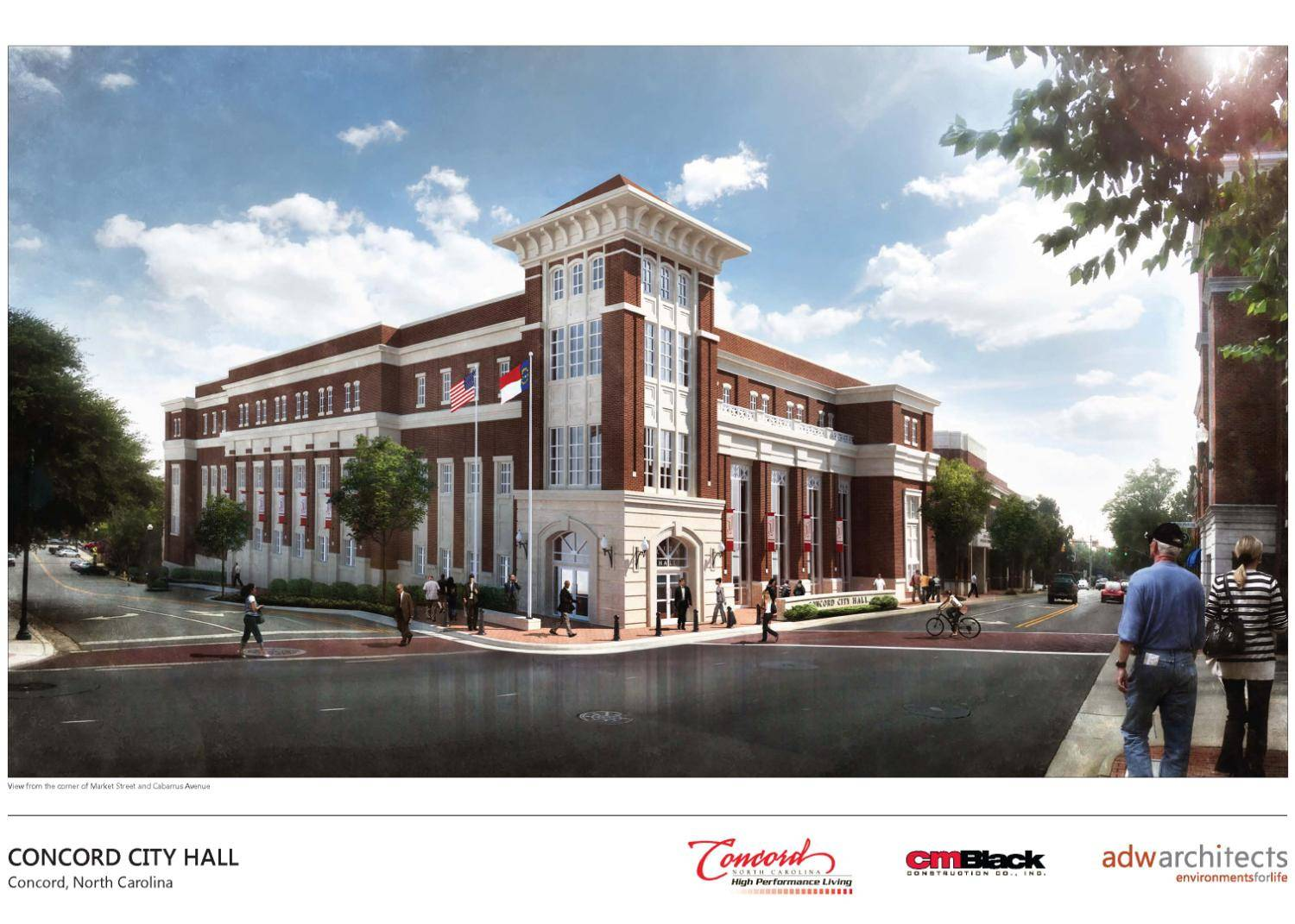 Concord and Kannapolis Spending $44 Million to Build 3 New City Buildings