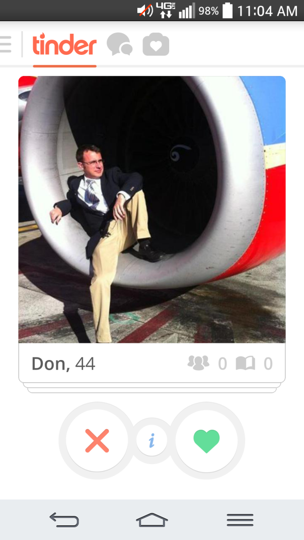 10 of The Most Awkward Men on Tinder