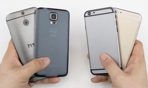 comparing-iPhone-6-vs-galaxy-s5-HTC-m8
