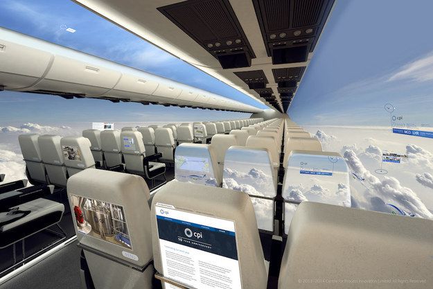 New Airplane Design Will Add Full Panorama Views