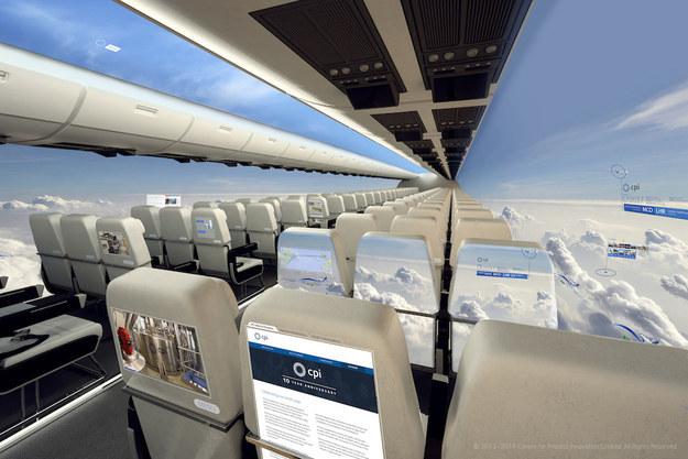 New Airplane Design Will Add Full Panorama Views