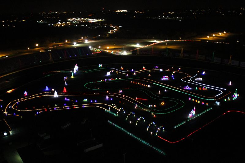 Motor Speedway Christmas Extravaganza