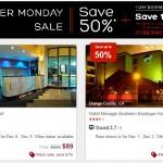 Hotels.com Cyber Monday Sale