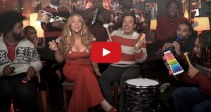 Jimmy Fallon, Mariah Carey & The Roots All I Want For Christmas Is You