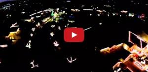 Mariah Carey Christmas lights