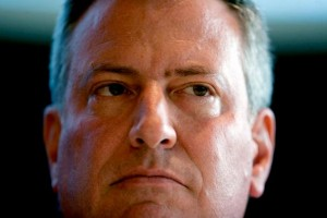 Mayor Bill de Blasio turned back