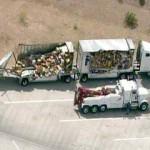 fedex truck crashes