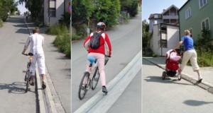 norway's bike lift