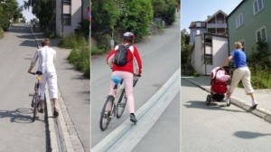 norway's bike lift