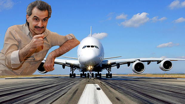 A380-Prince Alawaleed bin Talal