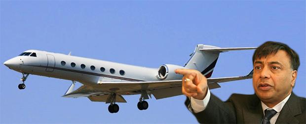 Gulfstream-G550- Lakshmi Mittal