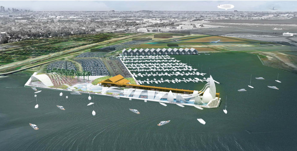 New Orleans Developing Massive New Water Park and Amphitheater