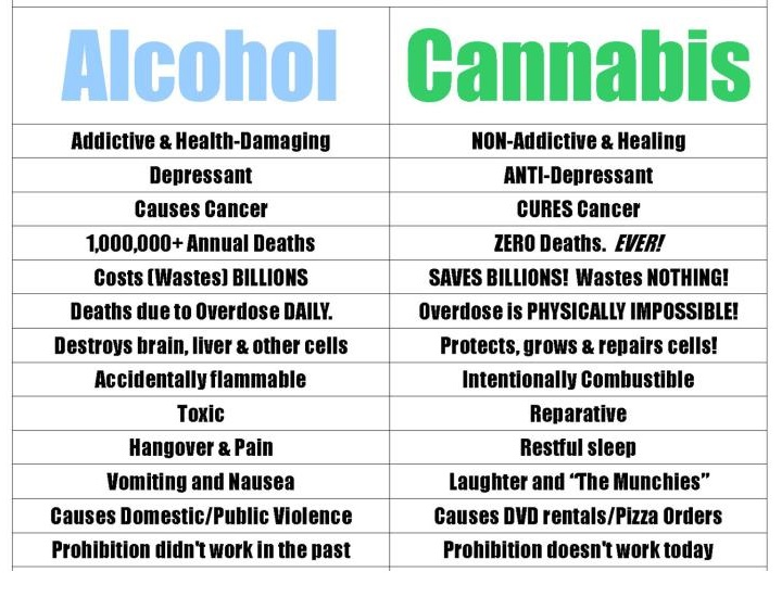 pot vs alcohol