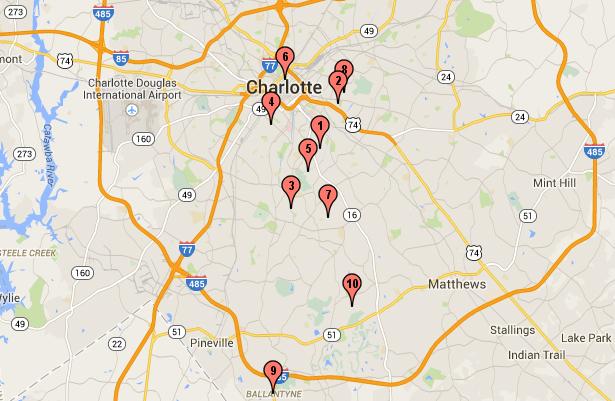 best neighborhoods in Charlotte