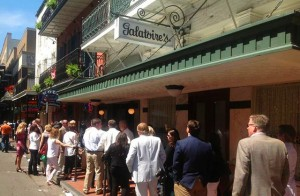 homeless paid to stand in line at Galatoires