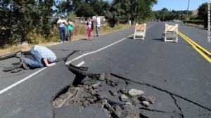 napa valley earthquake