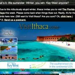 visit florida instaed of Ithica