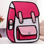 2d bags look like cartoons2