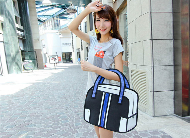 2d bags look like cartoons5