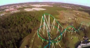 carowinds fury 325 test run