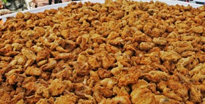 KY: KFC MARKS 70TH ANNIVERSARY OF CHICKEN RECIPE BY SETTING WORLD RECORD FOR LARGEST SINGLE SERVING OF FRIED CHICKEN