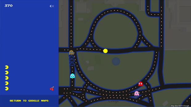pac man white house