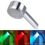 temperature controlled shower head