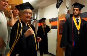 82 year old graduates high school