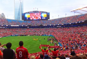 international soccer coming to charlotte