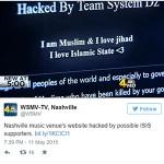 nashville music venue hacked by isis tweet