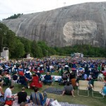 stone mountain salute our troops