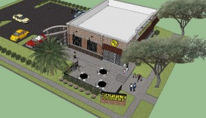 new orleans waffle house rendering