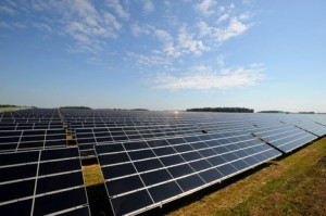 solar farm lake norman