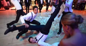 the most epic groomsmen dance ever