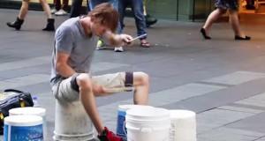 best bucket drummer in the world