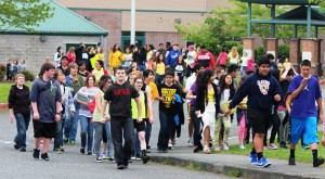 bluefield students march