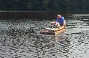 charleston area pastor rescues casket