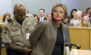 hillary arrested