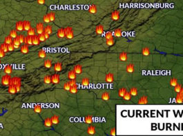 bluefield wv wildfires