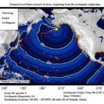 tsunami from big earthquake
